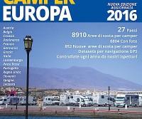 Guida Camper Europa 2016: nuova edizione dell'apprezzato volume