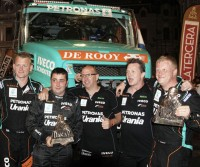 Dakar 2014: De Rooy al secondo posto.