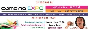 In arrivo Camping Expo Novara 2014