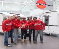 Bürstner partecipa alla Dakar con due autocaravan Ixeo