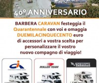 Barbera Caravan festeggia 40 anni di attività: