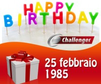 Buon compleanno Challenger