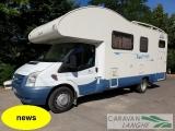 Mansardato Blu Camp SKY 500 con garage grande  - foto 1