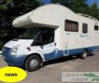 Blu Camp SKY 500 CON GARAGE GRANDE