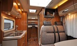 Knaus Van TI 550 MD - interno della famiglia Van TI