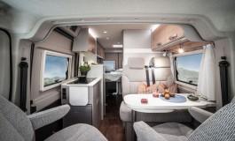 Hymer Camper Vans  Hymercar 600 S - interno della famiglia Free