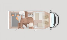 Weinsberg CaraSuite 650 MG - piantina