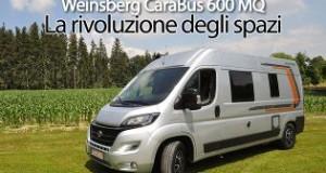 CamperOnTest Weinsberg CaraBus 600 MQ