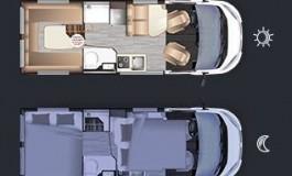 Dreamer Living Van - piantina