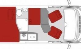 Pilote Vega-Van 540 G Premium - piantina