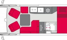 Pilote Vega-Van 630 G Premium - piantina