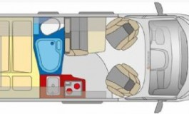 Globecar RoadScout R - Citroen - piantina