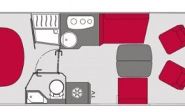 Pilote Galaxy G 740 FC Essentiel - piantina