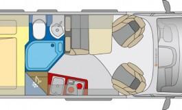 Globecar GlobeScout R Plus - piantina