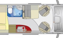 Globecar Summit 600 Prime - Fiat - piantina