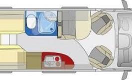 Globecar Summit 640 Prime - Citroen - piantina