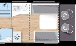Challenger 380 Graphite Premium - piantina