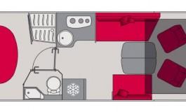 Pilote Galaxy G 781 FC Essentiel - piantina