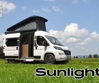 Anteprime 2022: Sunlight presenta i nuovi van con tetto a soffietto e rinnova i motorhome