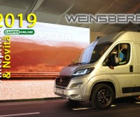 Weinsberg 2019 - Anteprime Camper - Motorhome Preview