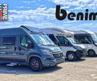 Anteprime 2022: Benimar amplia la gamma di motorhome Amphitryon e aggiorna le dotazioni per i van
