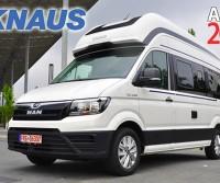 Anteprime 2022- Knaus: nuovi modelli su meccanica MAN TGE e restyling per i motorhome compatti Van I