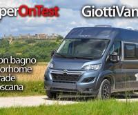 GiottiVan 60 T - Il van con bagno da motorhome in prova sulle strade della Toscana