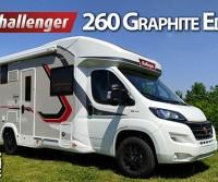 Challenger 260 Graphite Edition VIP - Grande bagno, generoso living e cambio automatico di serie