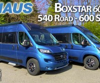 Knaus BoxStar 540 Road e 600 Street 60years: a confronto due van super equipaggiati e in abito elegante
