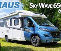 Knaus Sky Wave 650 MF 60 Years - Look inconfondibile, dotazione completa e comodo letto alla francese
