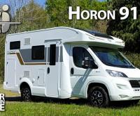 CI Horon 91 XT - Meno di sei metri, gavone garage, letto basculante e dotazione completa