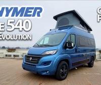 Hymer Free 540 Blue Evolution: corto (5,4 m) ma con 4 posti letto, super accessoriato ed esclusivo