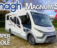 Elnagh Magnum 582 70°: motorhome super accessoriato, con letto centrale e soggiorno di tendenza