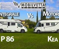 Mobilvetta Kea P 86 e I 86: semintegrale e motorhome a confronto - Camper in Pillole