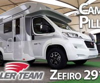 Camper in Pillole | Quick review - Roller Team Zefiro 291TL, compatto (solo 599 cm) ma ben abitabile