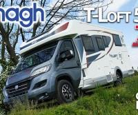 Elnagh T-Loft 532 70° Anniversary - Semintegrale accessoriato, con letti gemelli e soggiorno face-to-face