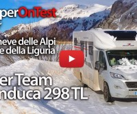 Con il nuovo Roller Team Granduca 298 TL dalle Alpi alla riviera ligure - CamperOnTest in Tour