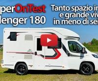 Challenger 180: tanto spazio interno e vivibilità in meno di sei metri - CamperOnTest