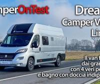 Dreamer Camper Van XL Limited: il van familiare dai grandi spazi con 4 posti letto e bagno con doccia indipendente