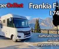 Frankia F-Line I 740 BD: un motorhome raffinato, tecnologico, ricco di soluzioni ergonomiche e originali