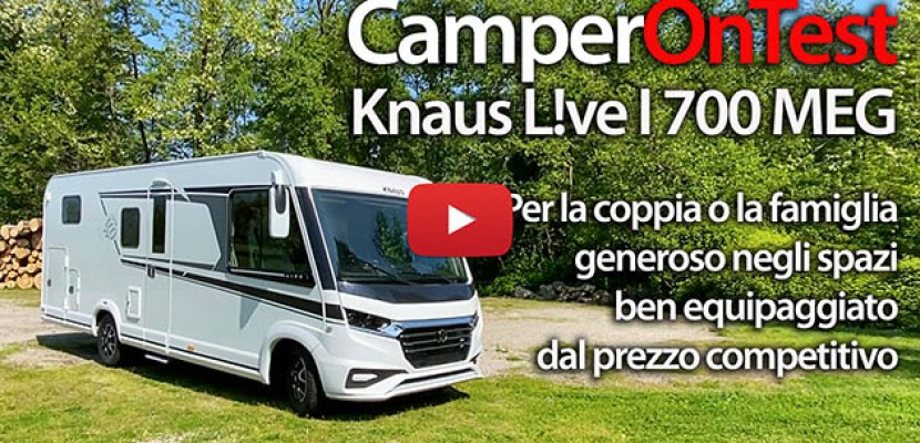 Knaus L!ve I 700 MEG - CamperOnTest