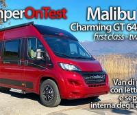 Malibu Van Charming GT 640 LE RB: un furgonato di prestigio con un particolare sistema di separazione degli ambienti interni