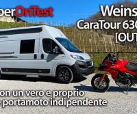 Weinsberg CaraTour 630 MEG [OUTLAW] - il van con garage per moto indipendente