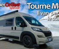 Tourne Mobil 435 - Un van di prestigio pensato per tutte le stagioni e per ogni clima. Anche i più rigidi.