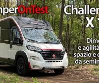 Challenger X 150 - Dimensioni e agilità da van, spazio e comfort da semintegrale