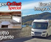 Eura Mobil Integra 760 HS, il salotto viaggiante - CamperOnTest Special | Motorhome review