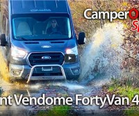 Font Vendôme Forty Van 4x4 - CamperOnTest Special - 4WD campervan review