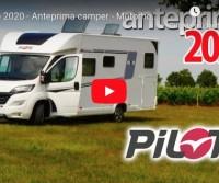 Pilote 2020 - Anteprima camper - Motorhome preview