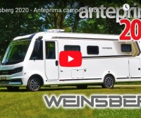 Weinsberg 2020 - Anteprima camper - Motorhome preview