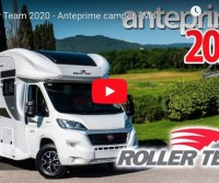 Roller Team 2020 - Anteprime camper - Motorhome preview